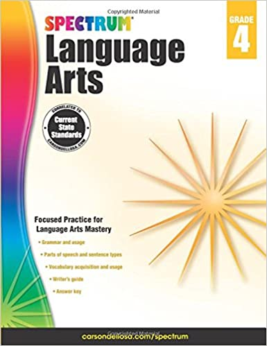 Spectrum Language Arts, Grade 4: Spectrum: 9781483812076: Amazon ...