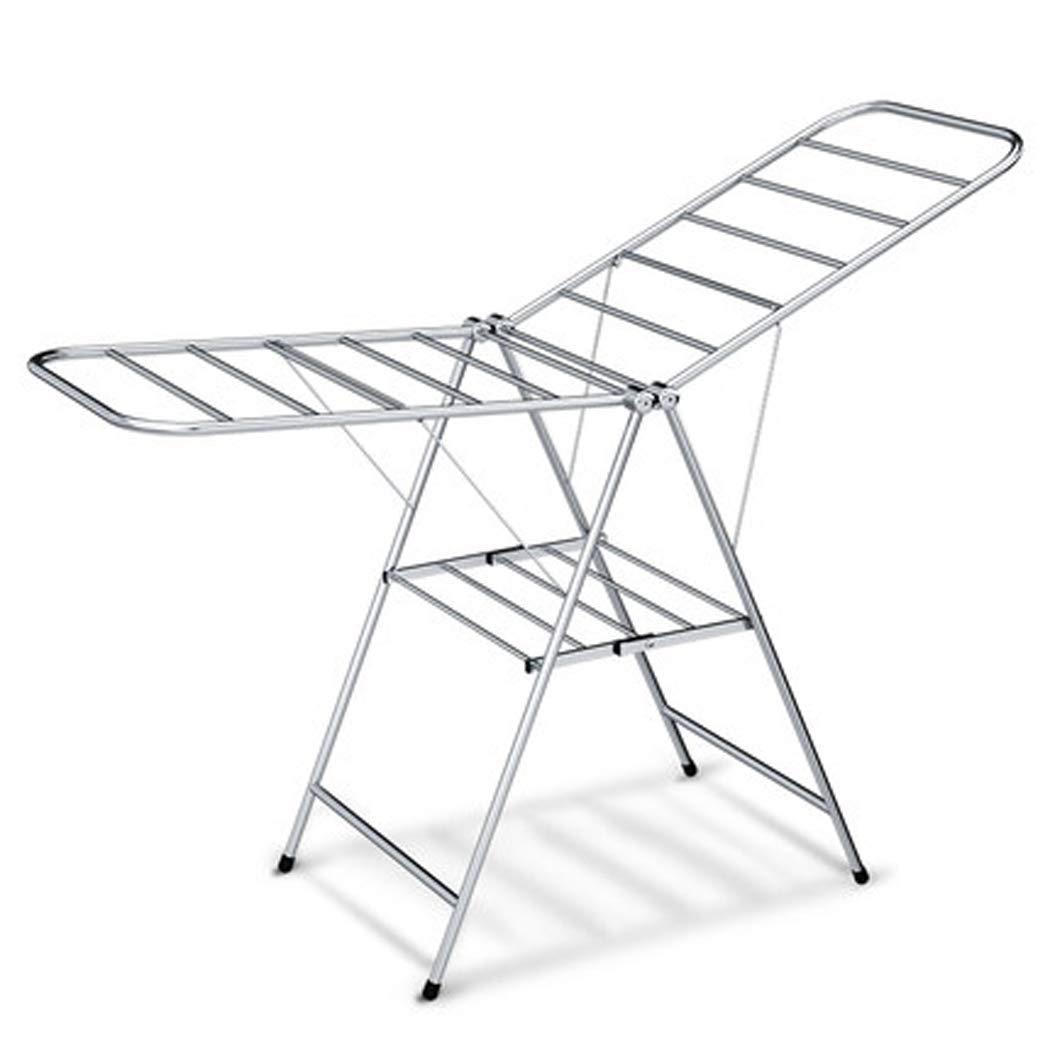 乾燥ラック、屋内と屋外の使用のためのステンレス鋼の乾燥ラック調節可能な折りたたみ乾燥ラック B07SCSTKN5