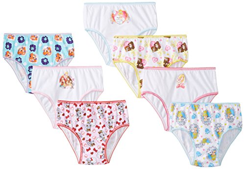 Handcraft Big Girls' Palace Pets Underwear Panty, Assorted, 8  (Pack of 7) (Amazon Elements Diapers compare prices)