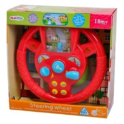 PlayGo Steering Wheel: Toys & Games
