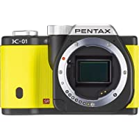 Pentax K-01 Mirrorless Digital Camera, Yellow (Body only)