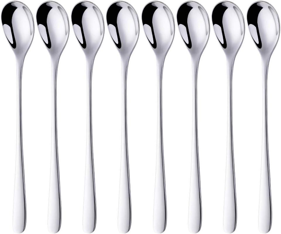 dimensioni di 17,8 cm Cucchiaio in acciaio inox Cucchiaio per gelato a vita insieme idee regalo di anniversario Cucchiaio inciso Articoli creativi Regali di pap/à da figlia