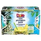 Dole 100% Pineapple Juice - 6 oz - 6 ct