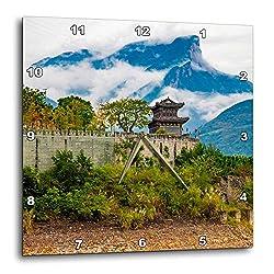3dRose Danita Delimont - China - Baidicheng, White Emperor City, Yangtze River, China - 15x15 Wall Clock (DPP_312602_3)