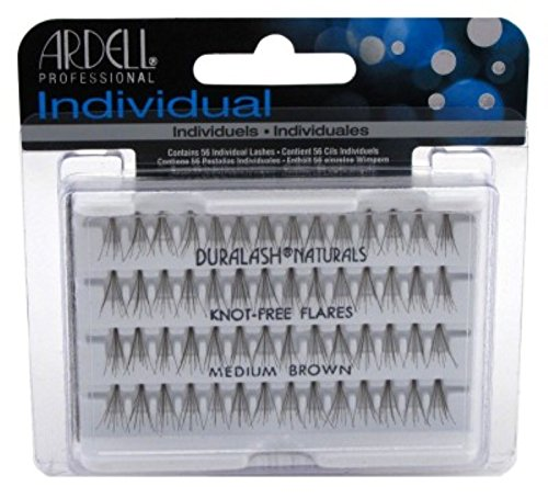 Ardell Duralash Naturals Flare Medium Brown (56 Lashes) (3 Pack)