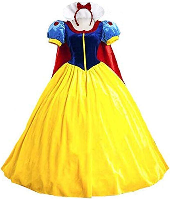 Nexthops Disfraz Blancanieves Falda Snow White Costume Princesa ...