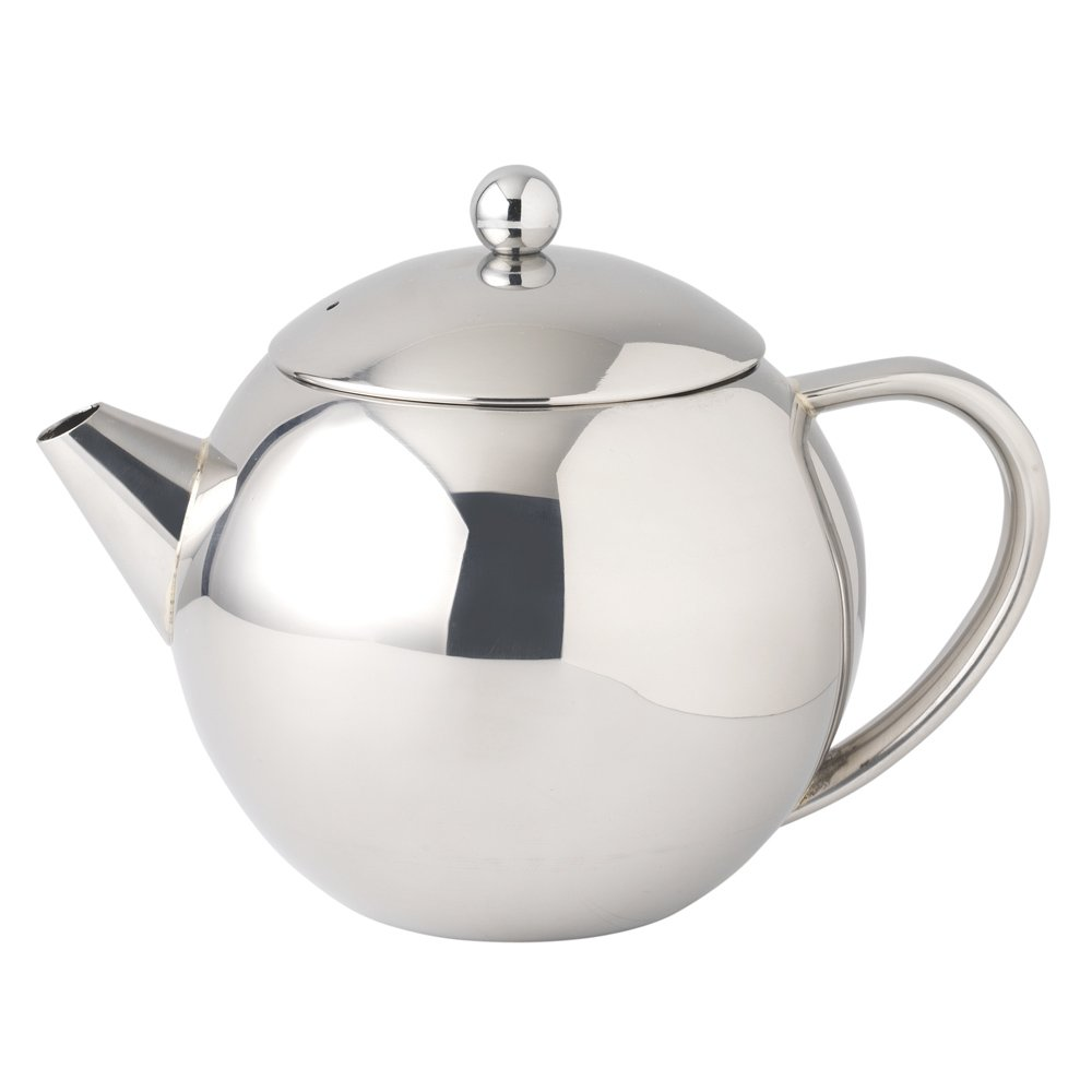 procook stainless steel teapot l amazoncouk kitchen  home -