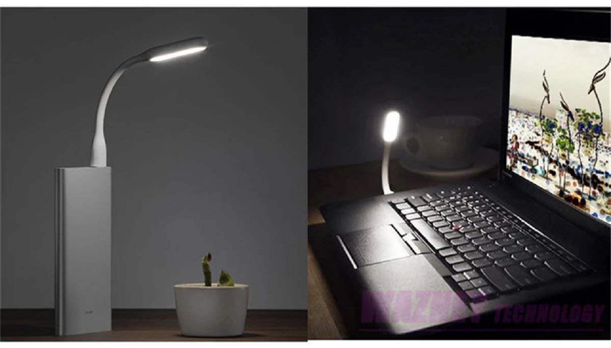 USB LED Reading Light Pack of 3 White