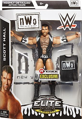 WWE Elite Scott Hall WCW Hall of Fame Exclusive Mattel Figure Loose