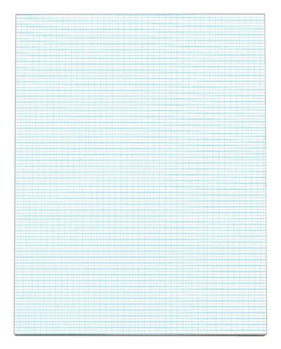 [OfficeMax(R) Quadrille Pad, 8 1/2in. x 11in., 40% Recycled, 10 Squares Per Inch, 50 Sheets] (Officemax Recycled Quadrille Pads)