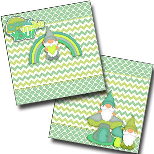 Gnome One Like You NPM - Premade Scrapbook Pages - EZ Layout 3755