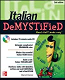 Italian DeMYSTiFieD, Second Edition 2nd Edition