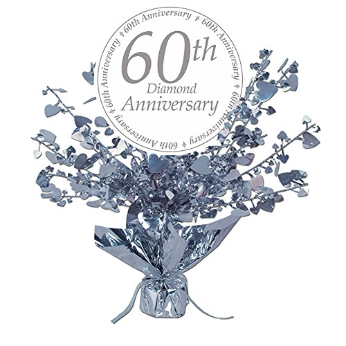 60TH ANNIVERSARY CENTERPIECE (Anniversary Centerpieces Ideas)