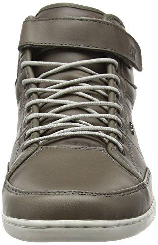 ICN Sneakers Homme Gris Lea Prem Hautes Gris Boxfresh Swich axqwR6fAZ