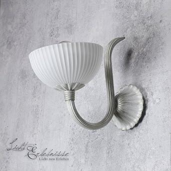 Rustikale Wandleuchte In Shabby Chic Landhaus Wandlampe Innen Beleuchtung  Lampen Schlafzimmer Wohnzimmer