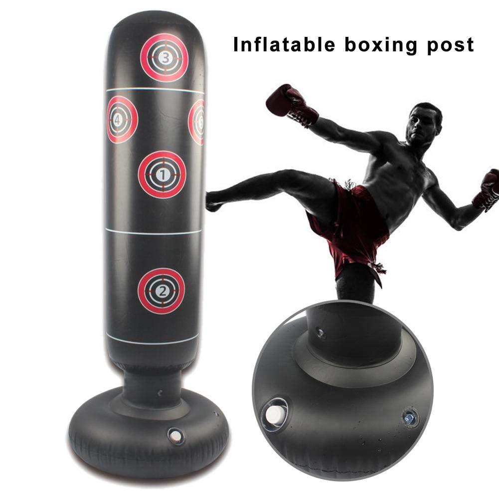 Sacos de Arena de descompresi/ón de Vaso Inflable Fitness para Adultos ni/ños Lif/éUP Saco de Boxeo de pie