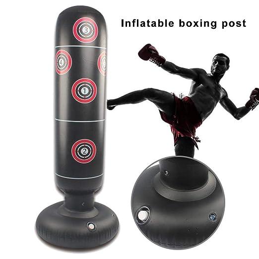 xiangpian183 Saco de Boxeo Inflable Saco de Boxeo para niños ...