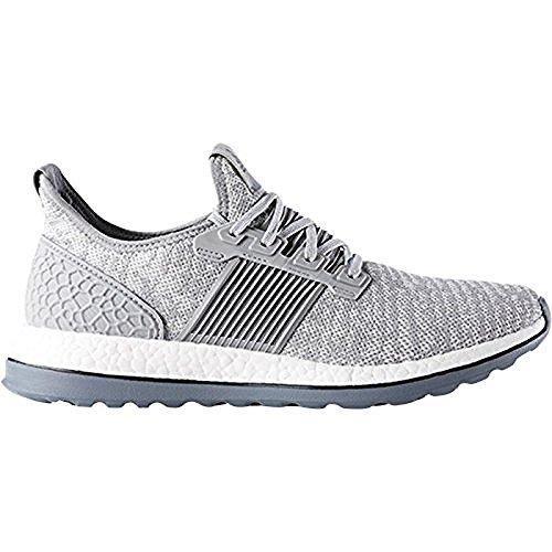 Adidas Performance Mænds Pureboost Zg Løbesko Midten Grå-grå-sort oZ1UtnhC