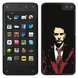 For Amazon Fire Phone Case , Edward Norton - Diseño Patrón Teléfono Caso Cubierta Case Bumper Duro Protección Case Cover Funda