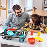 GrowthPic Pretend Play Kitchen Set for