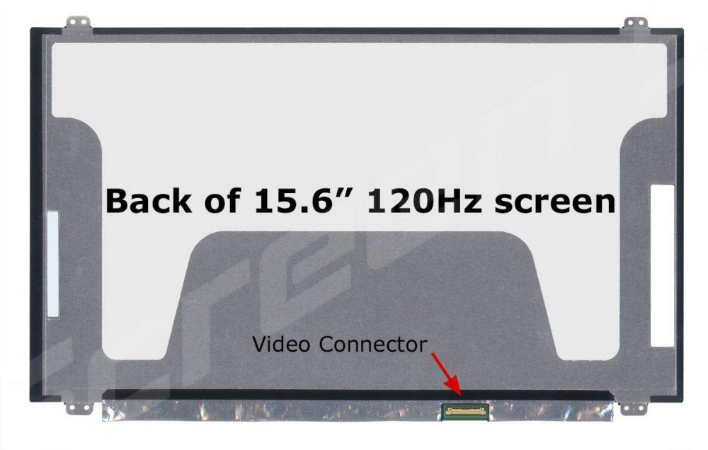New N156HHE-GA1 Laptop Led LCD Screen 15.6'' 120 HZ FHD MSI GT62 GE63 New Replacement LCD Screen for Laptop LED Matte by Generic (Image #1)