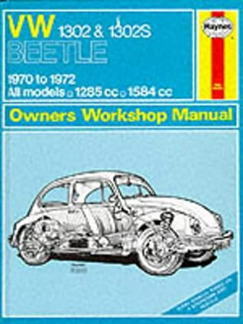 volkswagen 1302s super beetle owner s workshop manual service rh amazon co uk
