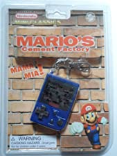 1998 Nintendo Mini Classics: Mario's Cement Factory / Hand-Held Game W/Attached Keychain