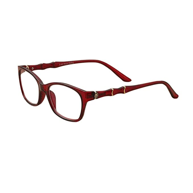 Deylaying Rahmenlose Frauen Brillen Anti Blue Rays UV Schutz Computer Lesebrille Stärke 1.0 1.5 2.0 2.5 3.0 3.5 4.0 PQWEH4
