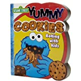 Sesame Street Yummy Cookies Shaped Cookbook, Publications International Ltd. Staff, 1412729440