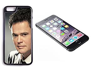iPhone 6 Black Plastic Hard Case with High Gloss Printed Insert Donny Osmond