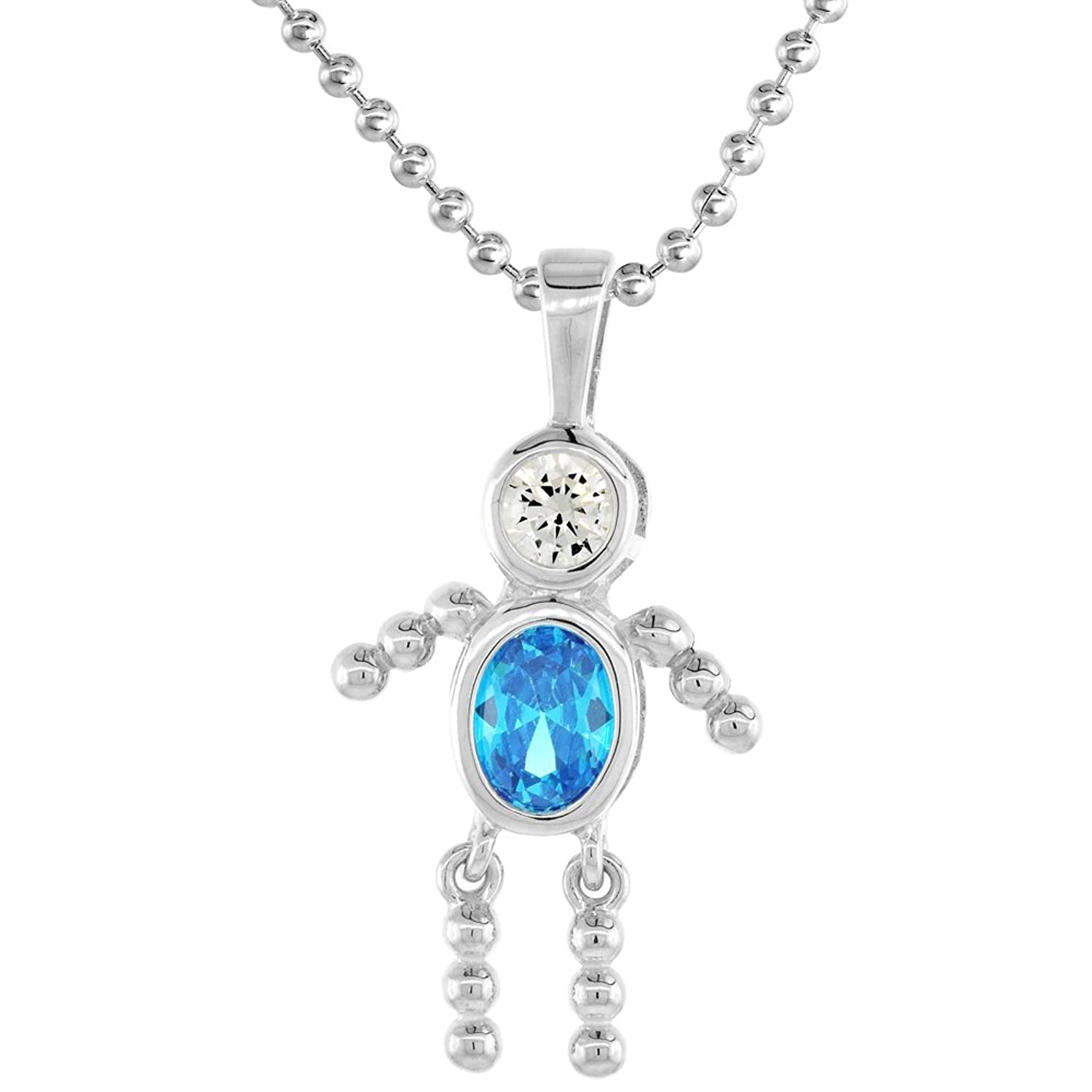 sterling blue shop women products necklace boy com opal allah silver lulugem for