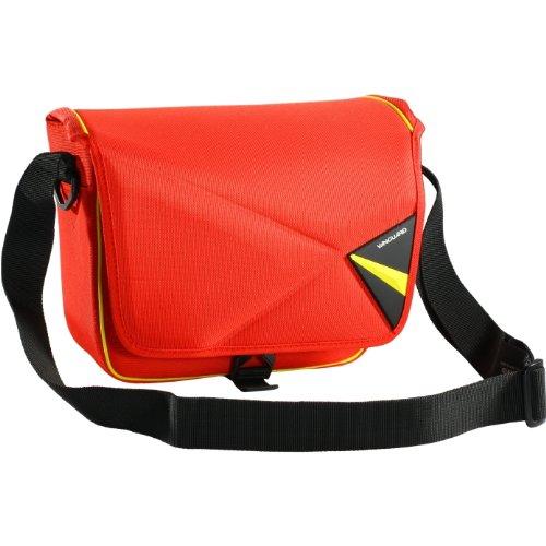 Vanguard Pampas II 22RD Large Photo Video Shoulder Bag for Small DSLR and Compact System Cameras - Red