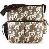 Skip Hop Duo Deluxe Diaper Bag, Cherry Bloom (Discontinued by Manufacturer)