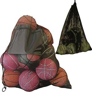 Amazon.com: Paquete de 2 bolsa de bola de malla, bolsas de ...