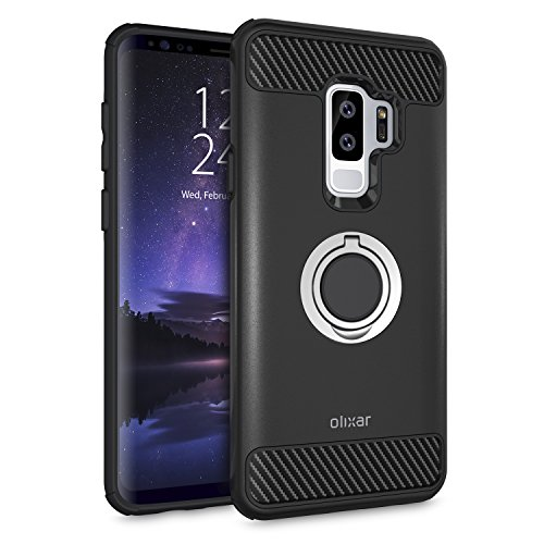 Samsung Galaxy S9 Plus Case With Ring Kickstand -...