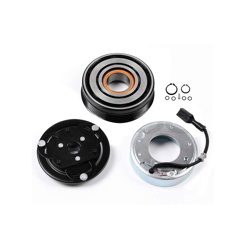 OCPTY CO 11227C A//C Compressor Clutch Assembly Compatible for Subaru WRX Subaru Impreza Subaru Forester