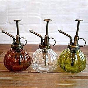 Yiding Glass Watering Pot Pouring Kettle Antique Gardening Tool Spraying Bottle Shower