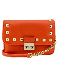 88 Amy Saffiano Mini Crossbody Bag