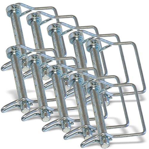 3/8' X 2-1/2' Long Quick Locking Pin (10-pack) Columbus Design & Manufacturing