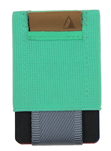 NOMATIC Mint Slim Minimalist Wallet- Everyday Carry Card Holder- Keys, Cash, Coin