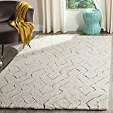 Cheap Safavieh Casablanca Shag Collection CSB211A Southwestern Ivory and Multi Area Rug (8′ x 10′)