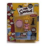 Playmates - The Simpsons - World of Springfield Interactive Figure - Series 9 - Sunday Best Lisa w/custom accessories by Playmates