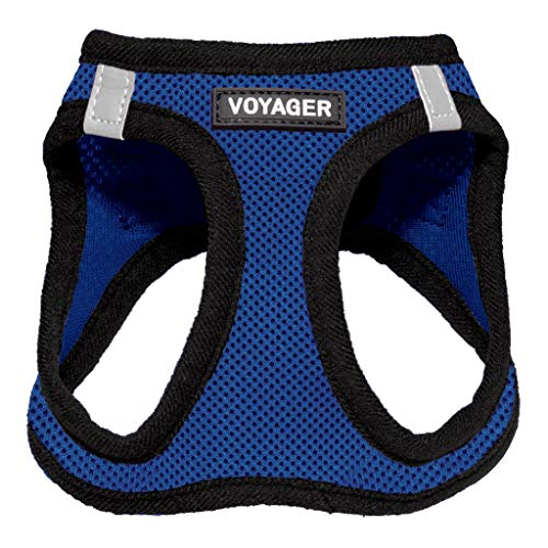 Voyager Step-in Air Dog Harness - All Weather Mesh, Step in Vest Harness for Small and Medium Dogs by Best Pet Supplies