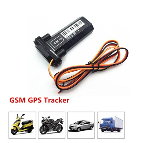Mchoice Car Vehicle Motorcycle GSM GPS Tracker locator Global Real Time Trac Device RF (Tracking Animals Gps For)