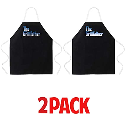 Attitude Aprons Fully Adjustable Boss Of The BBQ Apron Grilling Funny Apron
