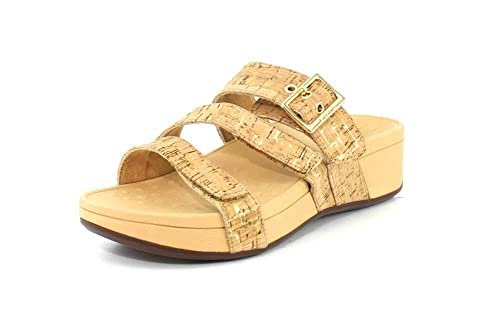 e096b8d4924 Vionic Women s Pacific Rio Platform Sandal - Ladies Adjustable Slide Sandal  with Concealed Orthotic Arch Support