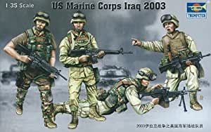 Trumpeter 00407 - Figuritas ejército estadounidense en Iraq 2003 a escala 1:35