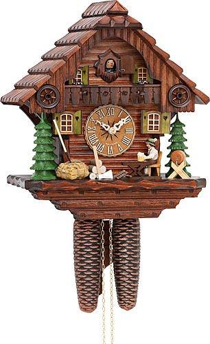 Alemán Reloj de cuco - estilo Chalet - mecanismo con cuerda para 8 días - 30