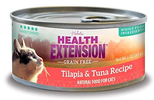 health extension 784672107983 2.8 oz Grain Free Tuna and Til