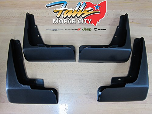 Oem Mud Splash Guard - Dodge Charger Deluxe Molded Splash Guards Mud Flaps Mopar OEM